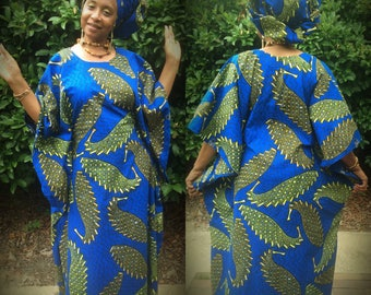 Zuri (Beautiful) Wear It Your Way African Kaftan Ensemble  KE116