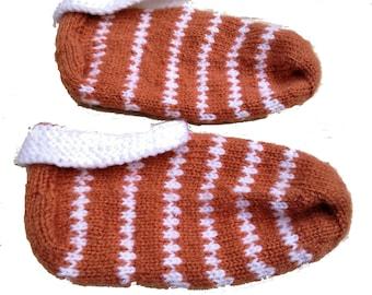 Handmade Bosnian Winter Slippers