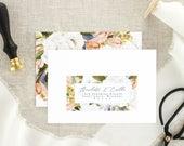 Wedding Address Sticker - Return Address Label Wedding - Wedding RSVP Address - Return Address Sticker - Custom Wedding Return Address Label