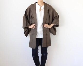 Haori jacket, kimono top, Japanese kimono, kimono cardigan, classic jacket /1756
