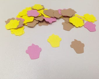 Cupcakes Confetti, Cupcakes die cuts, Party Decoration, Babyshower, Birthday Party