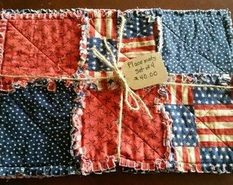 Americana placemats