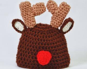 Infant Reindeer Hat