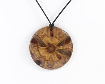 Banksia Necklaces -wooden pendant, statement necklace, gift for her, australian gift, wooden jewelry,australia,boho jewelry banksia