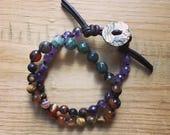 Good Vibes Double Wrap Mala Bracelet