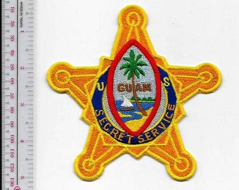 US Secret Service USSS Guam Field Office F.O. Agent Service Star Patch