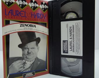 Laurel and hardy zenobia VHS Tape