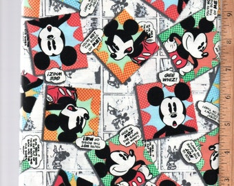Mickey Mouse Comic Blanket