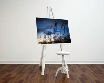 Outer Banks NC Sunset Canvas prints 8x10 12x18 16x20 Fine Art Landscape Photography Wall Art Home Decor Canvas Wrap Photograph