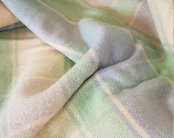 Wool Blanket, New Zealand, Kaiapoi Brand, Made in New Zealand, Pure Wool Blanket, Vintage Blanket, single Bed, Large cot blanket.