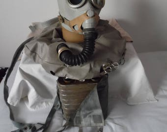 Gas mask IP 5 Russian Military Rebreather Grey soviet gas mask Russian gas mask. NEW