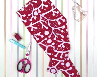 Organic leggings, red leggings, Christmas leggings, unisex leggings, gift, gifts for kids, Christmas gift, unisex pants, kids clothes