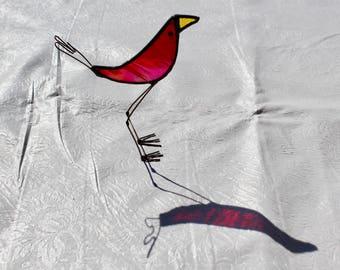 Stained Glass Bird Suncatcher - Stained Glass Bird - Stained Glass Suncatcher - Bird Suncatcher - Whimsical Bird - Quirky Bird - Suncatcher