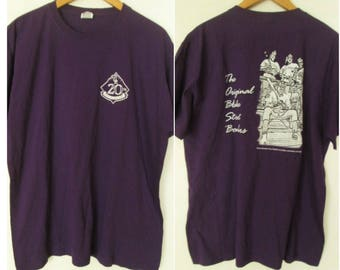 Colorado Rockies Anniversary Baseball MLB Mens Purple T-Shirt Sz XL Used