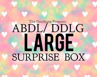 LARGE ABDL / Little / DDLG Surprise Gift Box Package