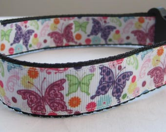 Butterfly Dog collar matching lead available wildlife