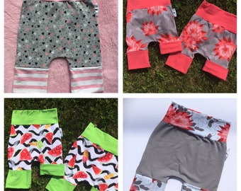 Grow-with-me Shorts évolutifs 6-36 ms ans 3-6 years