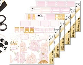 Be A Princess II Perfect For The Erin Condren Life Planner II