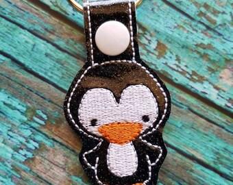 Penguin Sparkle Keychain