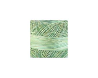 Lizbeth Thread Size 20 Variegated: #138 Leafy Greens