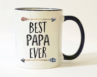 Papa Mug / Papa Gift / Best Papa Ever Mug / Papa Coffee Mug