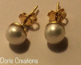 Beautiful Earrings Fresh Water