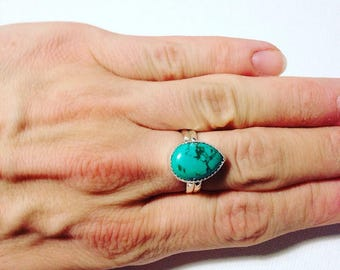 Ixchell Turquoise Ring