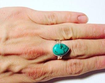 Ixchell Turquoise Ring
