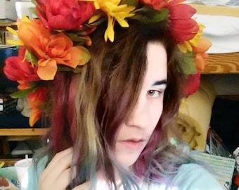 Autumn Bloom Faerie Crown