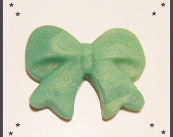 Cabochon bow in Fimo polymer ♥ ♥