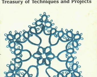 Tatting lace Tatting hand book Lacework tatting Crochet pattern pdf Tatted doily pattern Crochet tatting lace