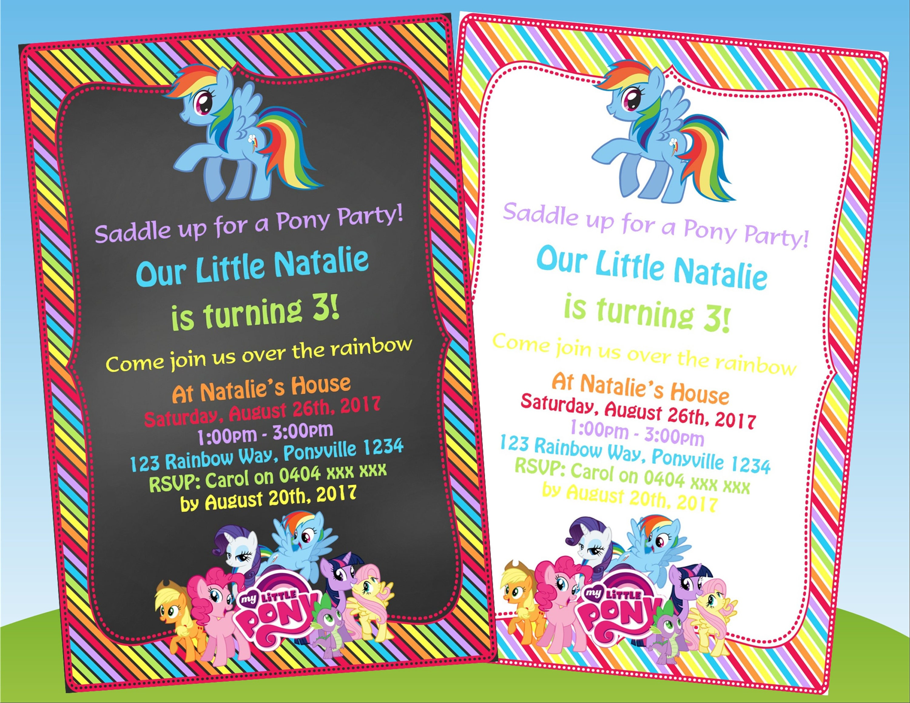 Pony Party Invitation Party Invitations Ideas