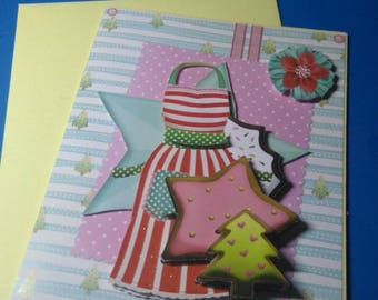 HAND made 773 3D greeting card