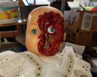 Creepy Skull Baby Doll