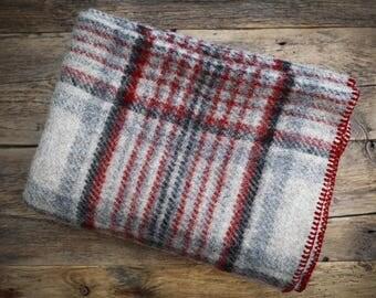 Christmas Gift Wool, Wool throw, Blanket Wool, Warm Blanket Wool, Tartan Blanket, Tartan, Wool Throw Gift, Blanket Gift Women