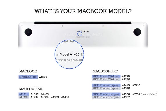 Macbook Wood Case Cover Skin Model Variations