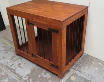 Indoor Wooden Dog Kennel - Large Single Door