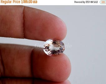ON SALE Natural Morganite 10x8 MM Faceted Oval / Light Pink Morganite / Engagement Ring / Excellent Quality / Price per piece.