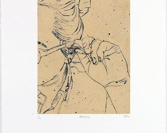 Body Language Dry Point Prints (Various)
