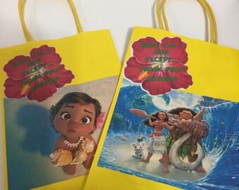 Moana goody bags .... SET OF 8