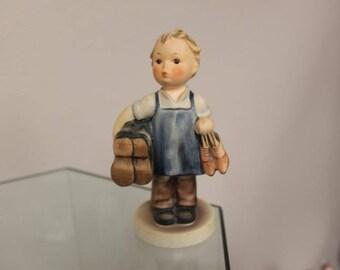 """Hummel """"BOOTS"""" Boy w/Shoes-Cobbler Figurine #143 SALE!"""