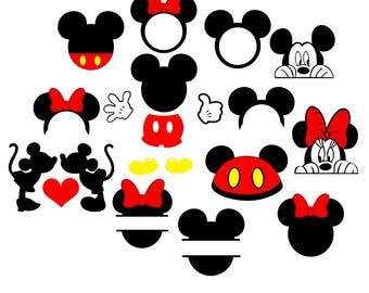 Mickey svg,disney svg, minnie mouse svg, peeking mickey svg, peeking minnie svg, Mickey and minnie, Mickey head svg, Minnie head svg