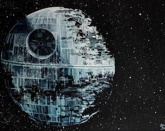 Death Star, Star Wars Print