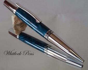 Executive Turquoise Ballpoint Pen