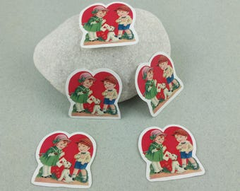 "Small sticker Set ""Love"""