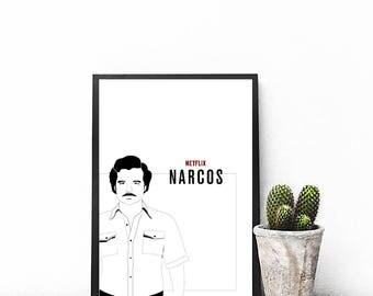 Illustration Narcos