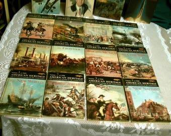 Vintage 1963 American Heritage History of the United States Hard Back Books Full Set 16