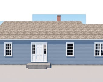 Build your own 1248 sqft 3 bedroom farm house (DIY Plans) Fun to build!