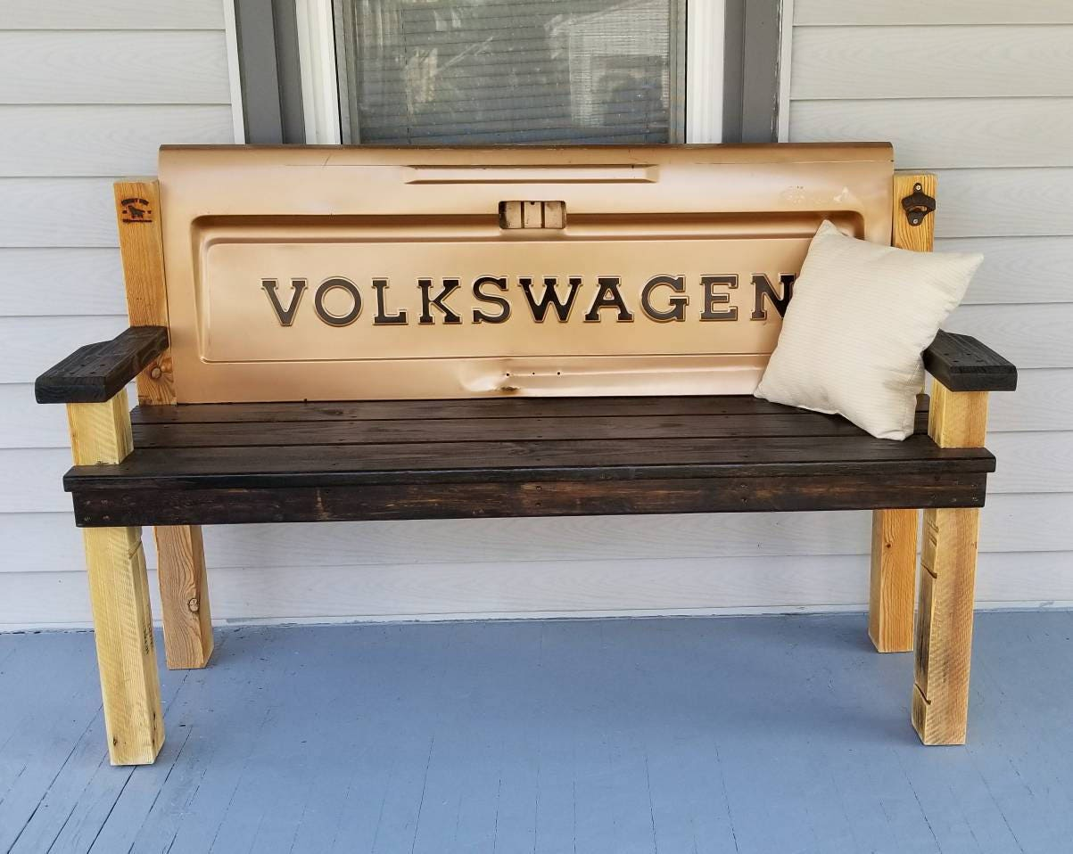 Rustic volkswagen tailgate bench zoom geotapseo Images