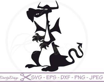 Dragon SVG, Dragon pdf, eps files, cricut Dragon, Dragon svg file, Clip Ar tDragon, Dragon cut file, silhouette file DXF Dragon